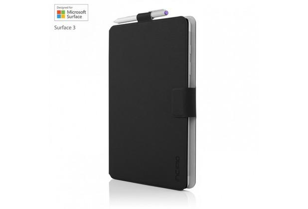 Incipio Roosevelt Klapptasche Microsoft Surface 3 schwarz MRSF-081-BLK