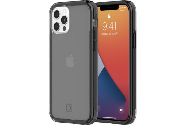 Incipio Slim Case, Apple iPhone 12/12 Pro, schwarz transparent, IPH-1887-BLK