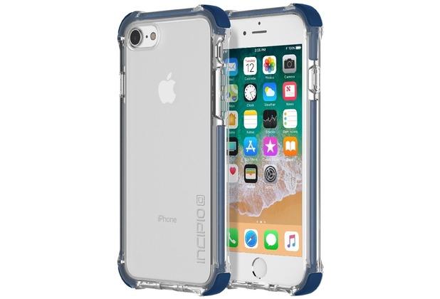 Incipio [Sport Series] Reprieve Case, Apple iPhone 8/7, blau/transparent