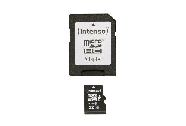 Intenso Micro SD Class 10 UHS-I, 32 GB