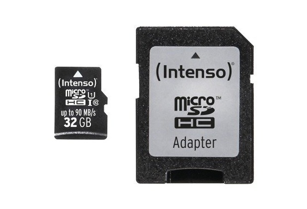 Intenso Micro SD UHS-I Professional, 32 GB