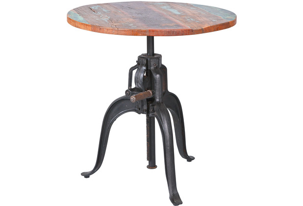 Inter Link Tisch \'Fundos\' höhenverstellbar 75 cm rund