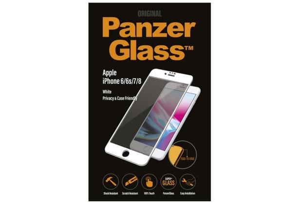 PanzerGlass iPhone 6/6s/7/8 / White Privacy