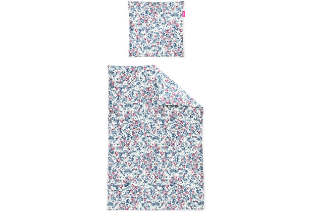 irisette Mako-Satin corado 8943 multi Bettwäsche 135x200 cm, 1 x Kissenbezug 80x80 cm