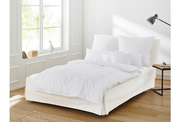 irisette SATIN BETTWÄSCHE PARIS 8000 Weiß 135 x 200