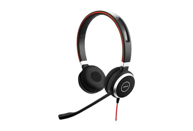 Jabra Evolve 40 UC Duo (Headset 3,5 mm Klinke)