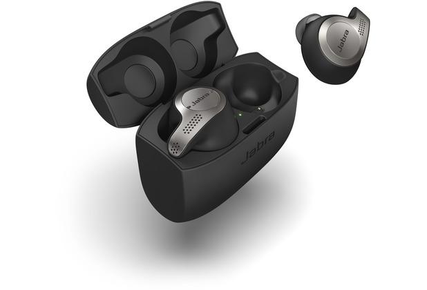 Jabra Evolve 65t, Titanium Black inkl. Link 370
