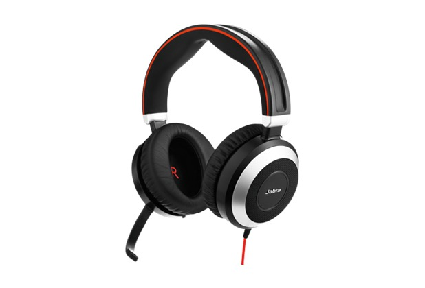 Jabra Evolve 80 UC Duo (Headset 3,5 mm Klinke)