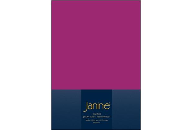 Janine Comfort-Jersey-Spannbettuch Elastic fuchsia Spannbettlaken 200x200