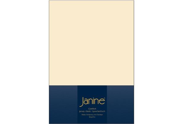 Janine Comfort-Jersey-Spannbettuch Elastic leinen Spannbettlaken 200x200