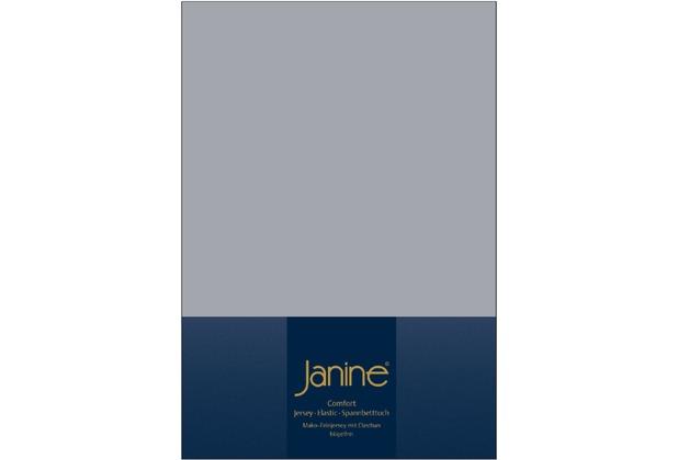 Janine Comfort-Jersey-Spannbettuch Elastic platin Spannbettlaken  200x200
