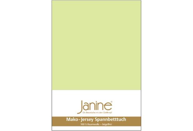 Janine Jersey-Spannbetttuch Jersey lilie Spannbettlaken 200x200