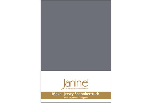 Janine Jersey-Spannbetttuch Jersey opalgrau Spannbettlaken 200x200