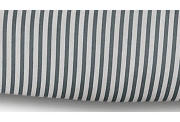 Janine Mako-Satin modernclassic grau 40x40 Kissenbezug mit Stehsaum