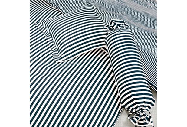 Janine Mako-Satin modernclassic schwarz 40x40 Kissenbezug mit Stehsaum