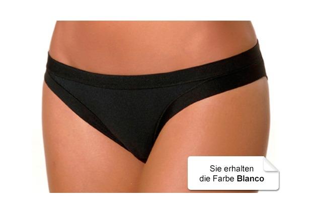Janira Bond Perfect-day Micro Slip blanco L
