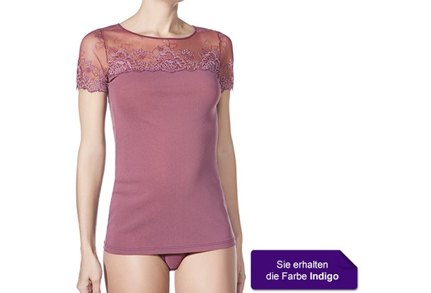 Janira Cta. M/c Greta Shirt indigo L