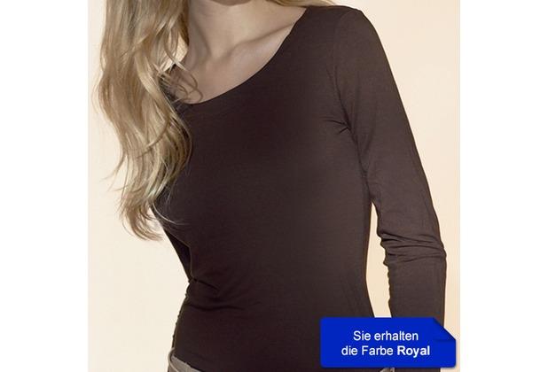 Janira Cta. M/l Spa-modal blu-royal L