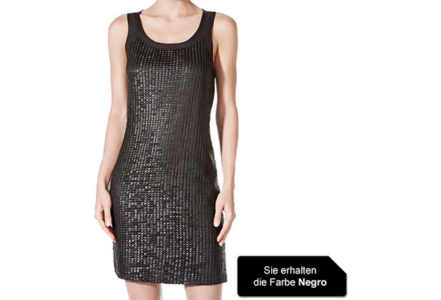 Janira Dress Liberty negro L