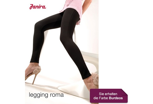 Janira Legging Roma burdeos 3 L