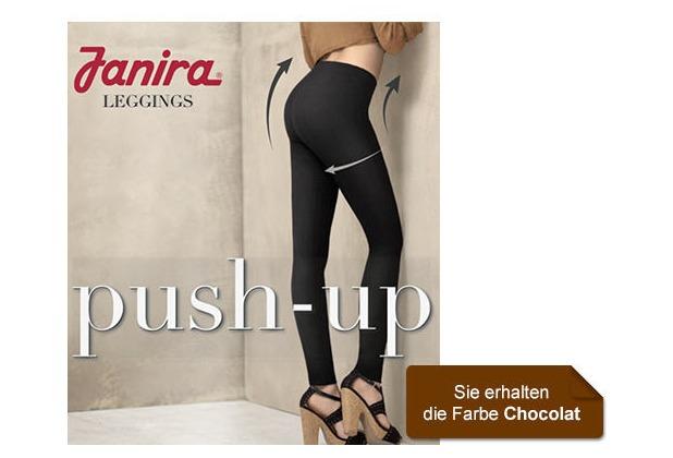 Janira Leggings LEGGINS PUSH-UP Shapewear braun L