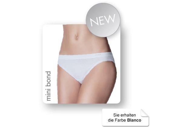 Janira Pack-2 Mini-bond Esencial Panties blanco L