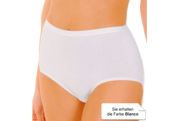 Janira Pack-3 Maxi Esencial Panties blanco L