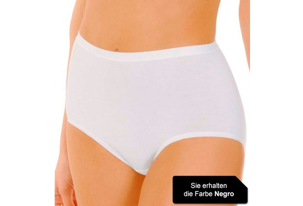 Janira Pack-3 Maxi Esencial Panties negro L