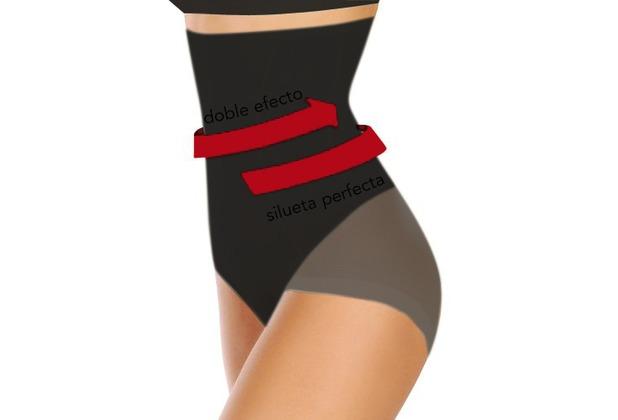 Janira Silueta Forte Secrets negro Shapewear, schwarz L