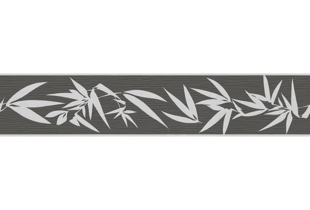 "Jette Bordüre \""Nature Spirit\"", Vlies, creme, metallic, schwarz 5 m x 0,13 m"