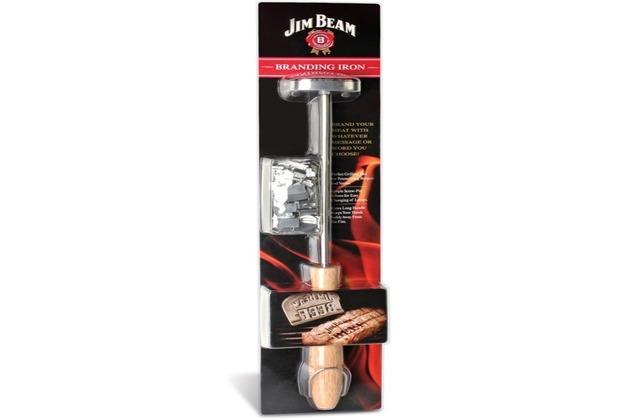Jim Beam Brandeisen für einen individuellen Brand