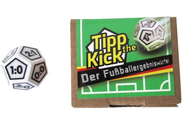 JM Inventions Fußball Eergebniswürfel
