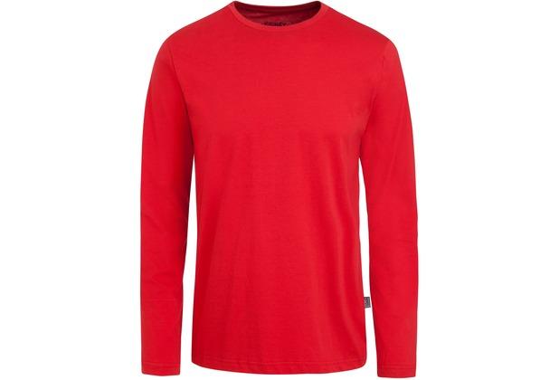 Jockey American T-Shirt LONG - SHIRT a-red L