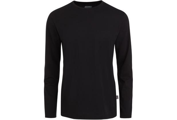Jockey American T-Shirt LONG - SHIRT schwarz 2XL