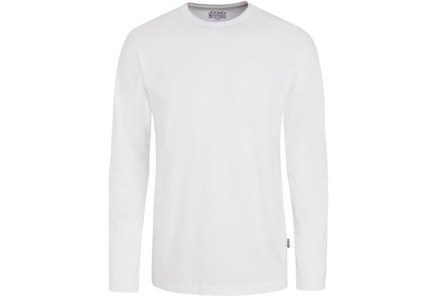 Jockey American T-Shirt LONG - SHIRT weiß 2XL