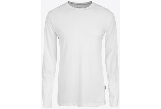 Jockey American T-Shirt LONG - SHIRT white L