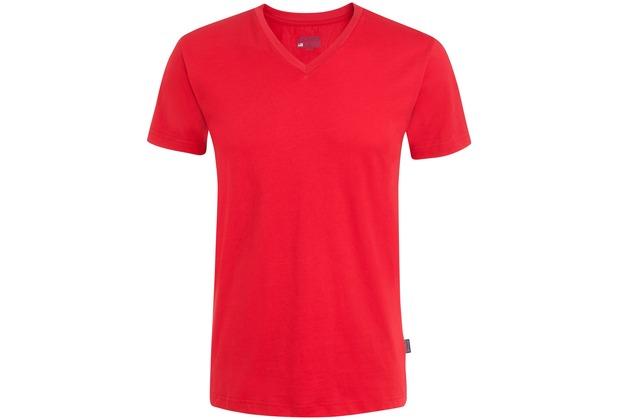 Jockey American T-Shirt V-SHIRT a-red L