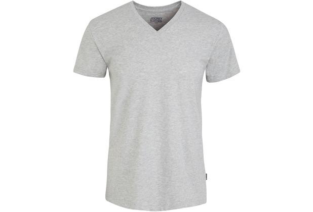 Jockey American T-Shirt V-SHIRT light hea.gr L