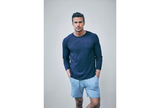 Jockey Balance LONGSLEEVE T-Shirt denim melang 102