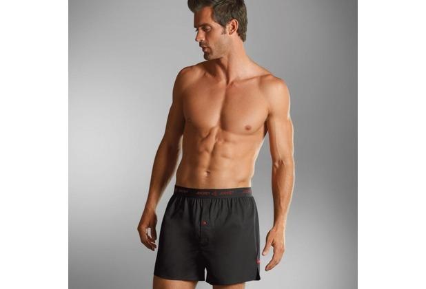 Jockey Boxer Shorts Webboxer aus der 3D Innovations® Kollektion. black S