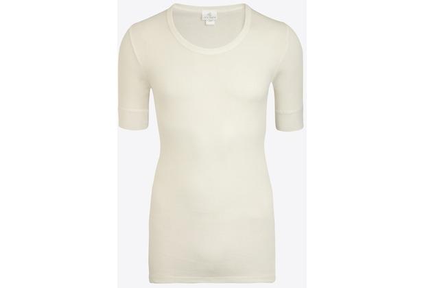 Jockey Classic Cotton Rib BOXER-SHORTSLEEVE SHIRT white L