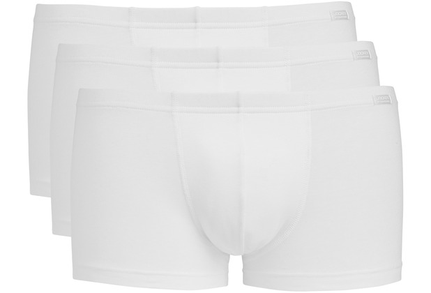 Jockey Cotton + BOXER-SHORT TRUNK-BOXER-SHORT 3PACK white L