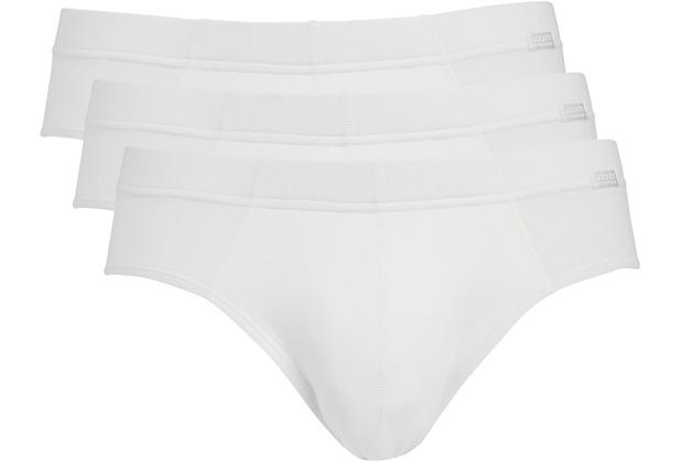 Jockey Cotton + BRIEF/SLIP/SLIP 3PACK white L
