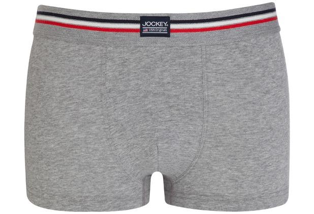 Jockey Cotton Stretch Short Trunk, 3er Pack stone grey m 2XL