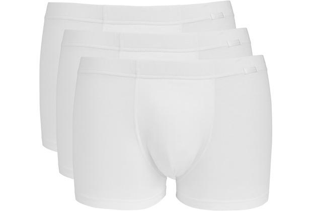 Jockey Cotton + TRUNK-BOXER-SHORT 3PACK white L