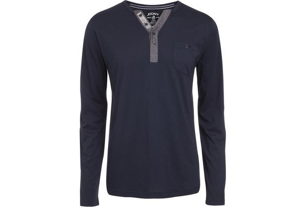 Jockey Everyday Loungewear LONG - SHIRT navy L