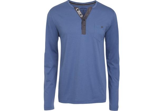 Jockey Everyday Loungewear LONG - SHIRT star blue L