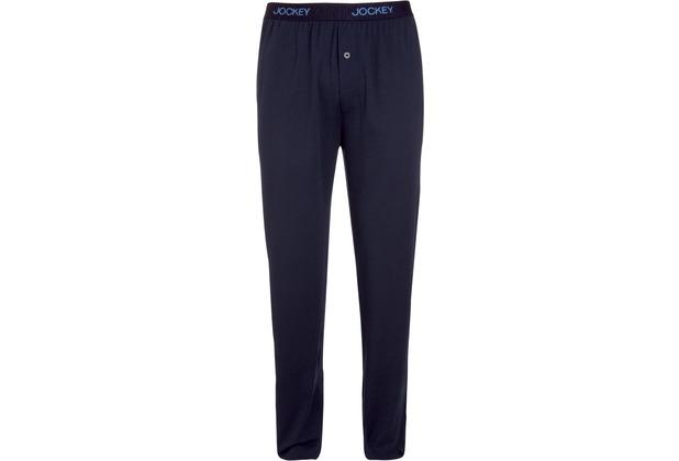 Jockey Everyday Loungewear PANTS KNIT blau dunkel 102