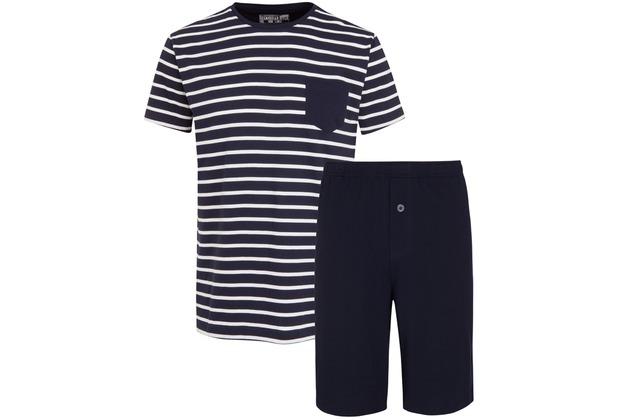Jockey Everyday Loungewear PYJAMA 1/2 KNIT navy L