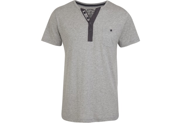 Jockey Everyday Loungewear T-SHIRT silver rock L